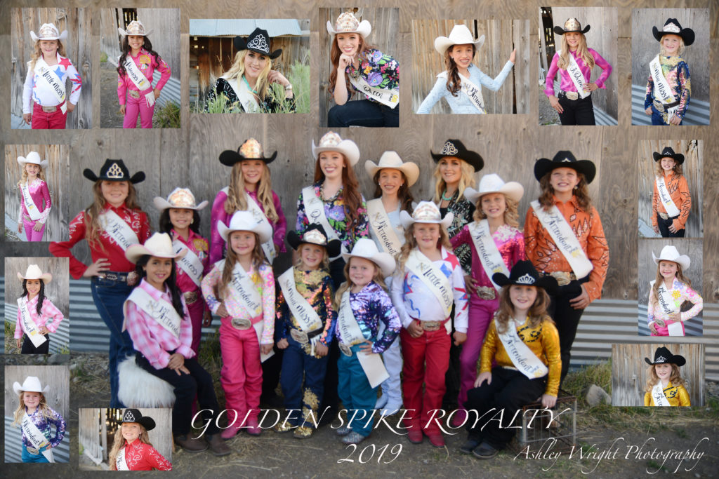 2019 Golden Spike Rodeo Royalty